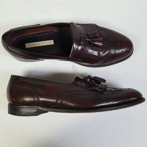 Florsheim Leather Wing Tip Brogue Loafer